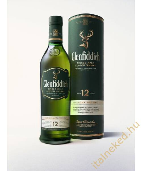 Glenfiddich 12 Year Old Whisky (40%) 0,7 l