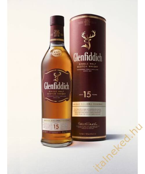 Glenfiddich 15 Year Old Whisky (40%) 0,7 l