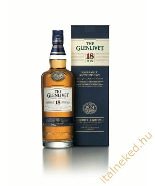 The Glenlivet 18 Years Whisky (43%) 0,7 l