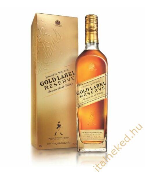 Johnnie Walker Gold Label Reserve Whiskey (papír díszdobozban) (40%) 0,7 l