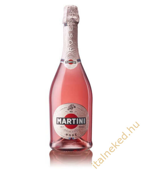 Martini Rose (félszáraz) pezsgő (9,5%)  0,75 l