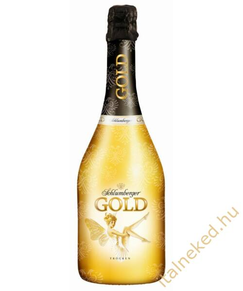 Schlumberger Gold pezsgő (11,5%)  0,75 l