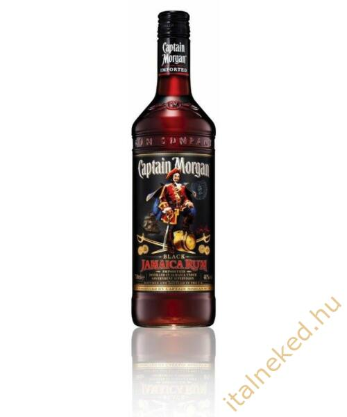 Captain Morgan Black Rum (40%) 0,7 l