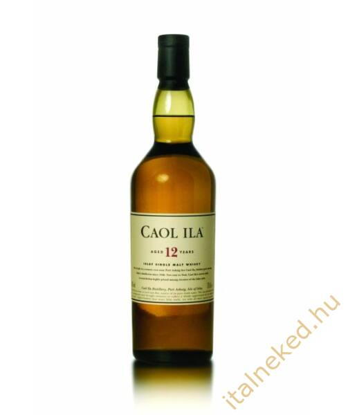 Caol Ila 12 Year Old Whisky (43%) 0,7 l