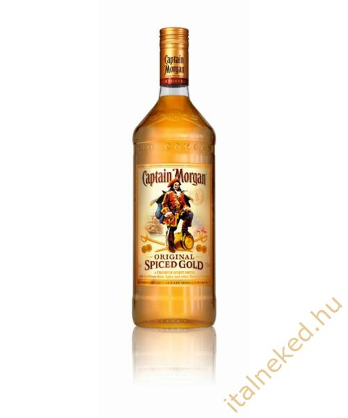 Captain Morgan Spiced Gold Rum (35%) 1 l