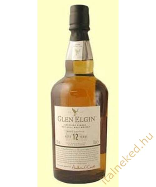 Glen Elgin 12 Year Old Whisky (43%) 0,7 l