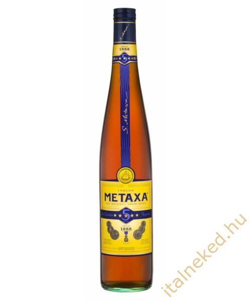 Metaxa 5* konyak (38%) 3 l