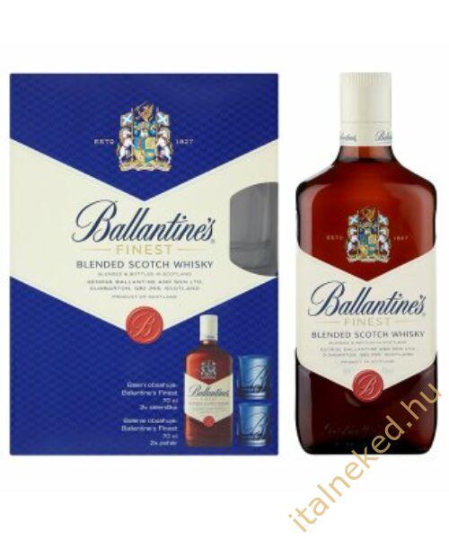 Ballantine's Whisky + 2 pohár DD (40%) 0,7 l