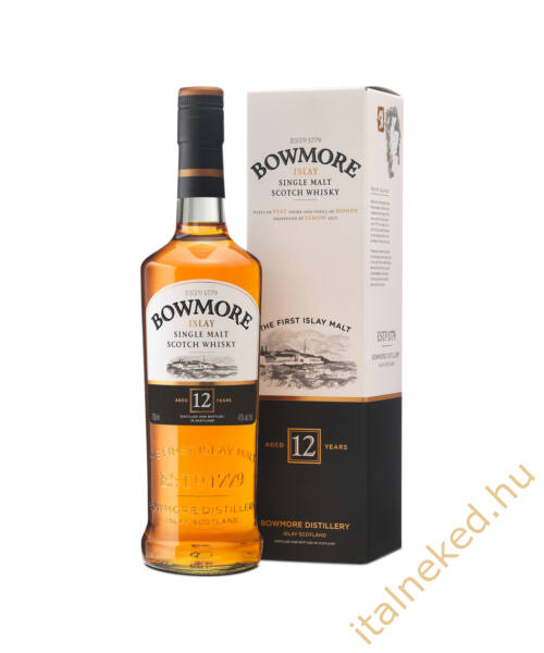 Bowmore 12 Year Old Whisky (40%) 0,7 l