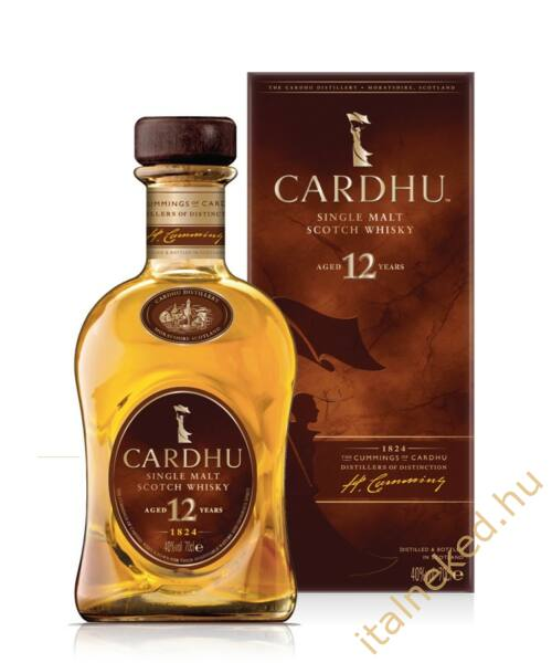 Cardhu 12 years Whisky 0,7l (40%)