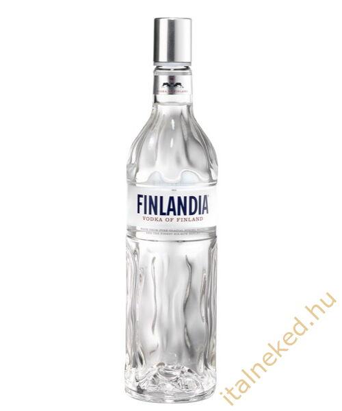 Finlandia vodka DD+2 pohár (40%) 0,7 l