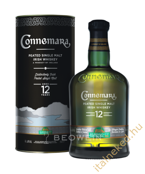 Connemara 12 Year Old Whisky (40%) 0,7 l