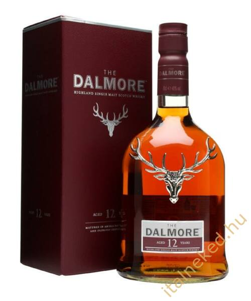 Dalmore 12 Year Old Whisky (40%) 0,7 l