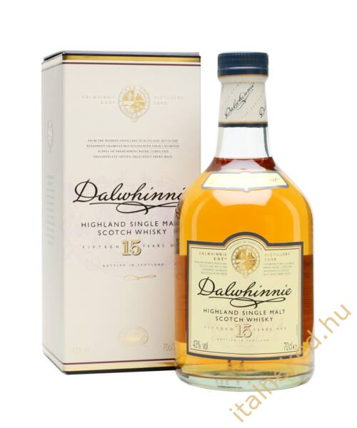 Dalwhinnie 15 Year Old Whisky (43%) 0,7 l