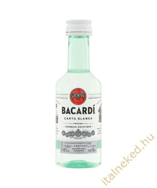 Bacardi Blanca Superior mini(40%) 0,05l