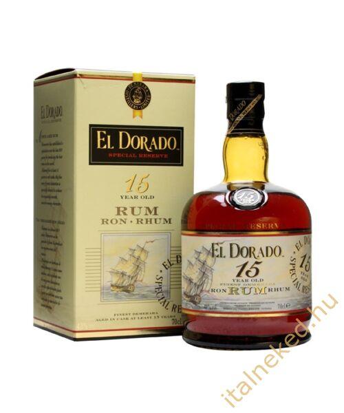 El Dorado 15 éves Rum 0,7l (43%)