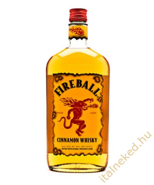 Fireball fahéjas Whisky Likőr 0,7l (33%)