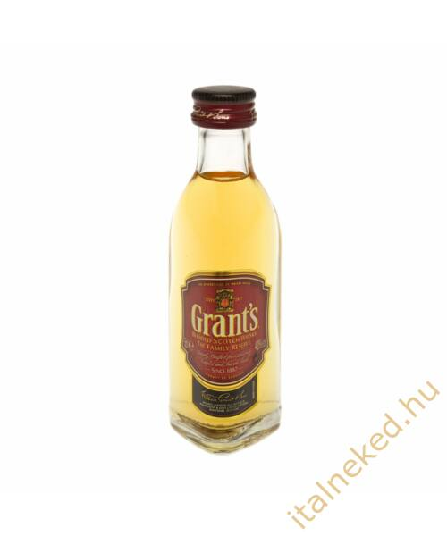 Grants whisky mini (40%) 0,05 l