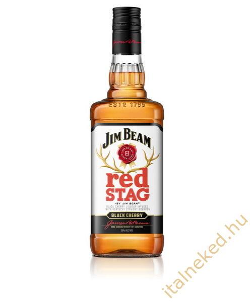 Jim Beam Red Stag Black Cherry Whiskey Liqeur (40%) 0,7 l