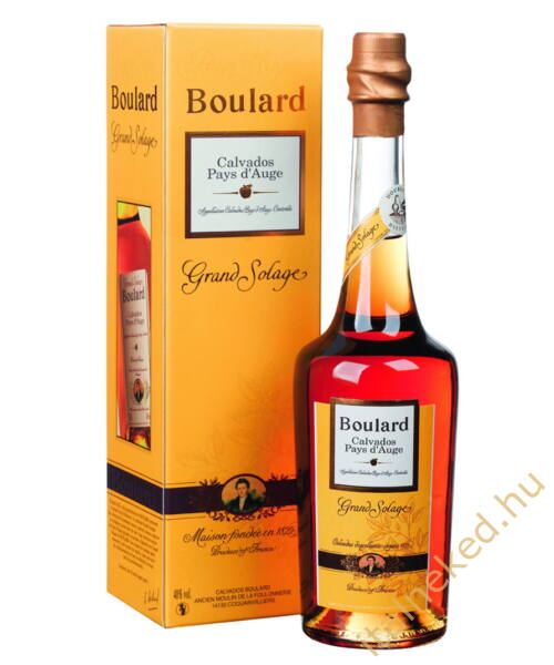 Calvados Boulard Grand Solage (40%)  0,5 l