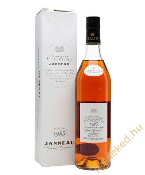 Janneau Armagnac 1983 konyak (43%) 0,7 l