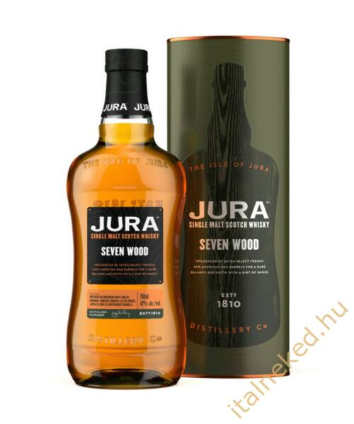 Jura Seven Wood Whisky (42%) 0,7 l