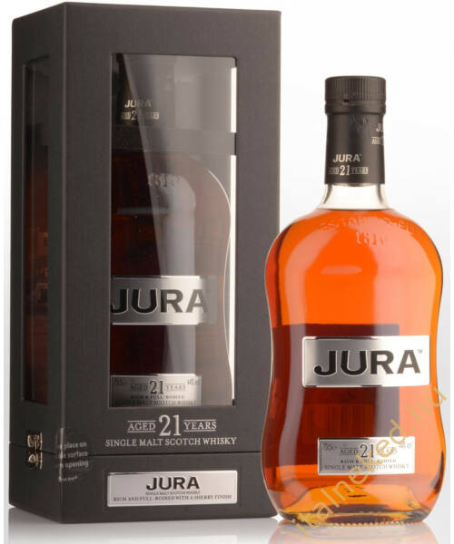 Jura 21 Years Whisky (44%) 0,7 l
