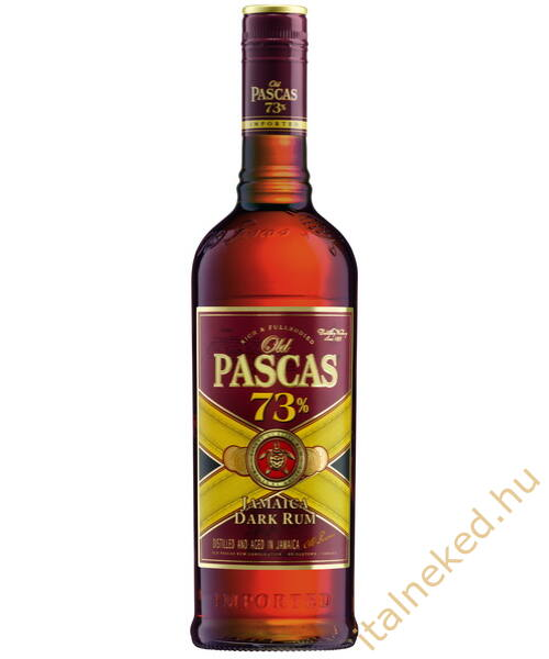 Old Pascas Dark Rum (73%) 0,7 l