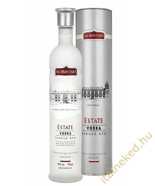 Sobieski Estate Vodka (díszdoboz) (40%) 0,7 l