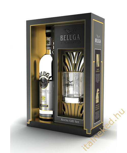 Beluga Noble Vodka ( Díszdobozban + ajándék ) (40%) 0,7 l
