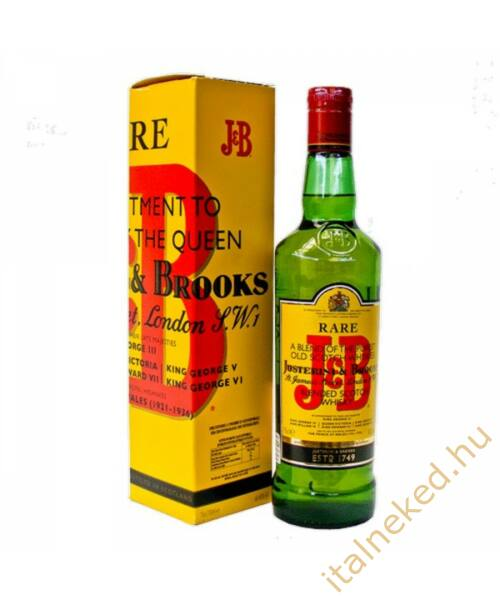 J&B Rare Scotch Whisky 0,7l (40%)