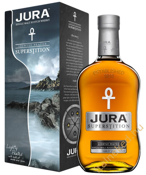 Jura Superstition Whisky (43%) 0,7 l