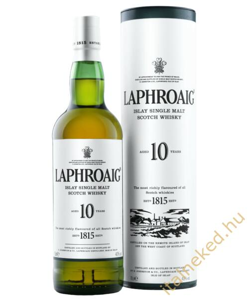 Laphroaig 10 Years Whisky (40%) 0,7 l