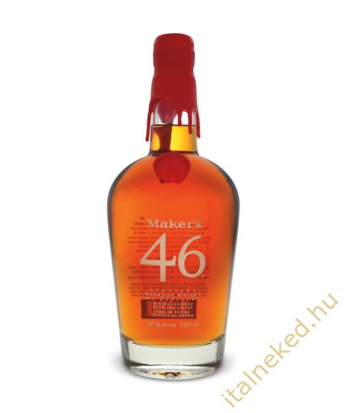 Maker's Mark 46 Kentucky Bourbon Whiskey (47%) 0,7 l