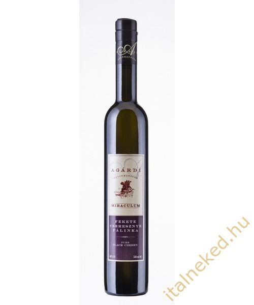 Agárdi Miraculum Fekete Cseresznye Pálinka (40%) 0,5 l