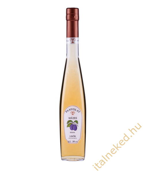 Panyolai Mézes-Szatmári Szilva pálinka (30%) 0,5 l