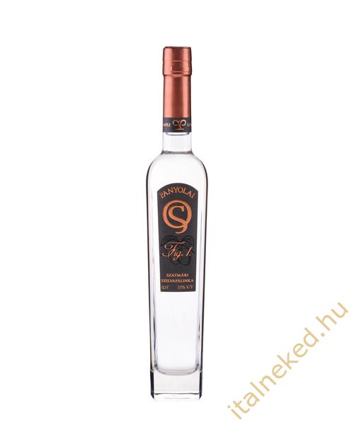 Panyolai Ágyas Szatmári Szilva pálinka (38%) 0,5 l