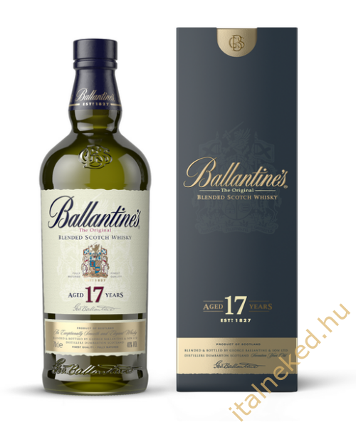 Ballantine's 17 Year Old Whisky (43%) 0,7 l
