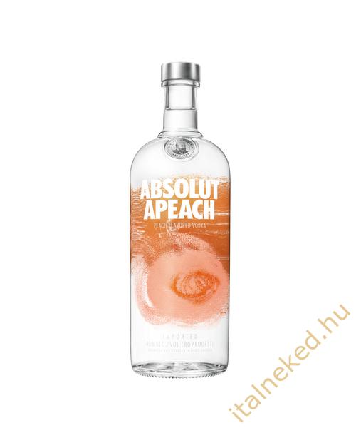 Absolut Apeach  Őszibarack Vodka (40%) 1 l