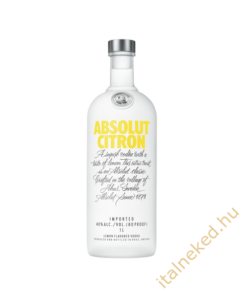 Absolut Citrom Vodka (40%) 1 l
