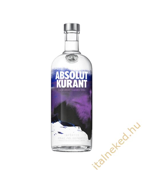 Absolut Kurant Vodka (40%) 1,0 l
