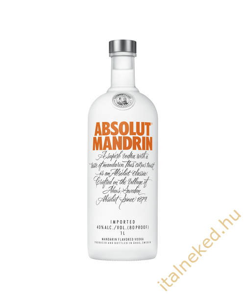 Absolut Mandarin Vodka (40%) 1,0 l