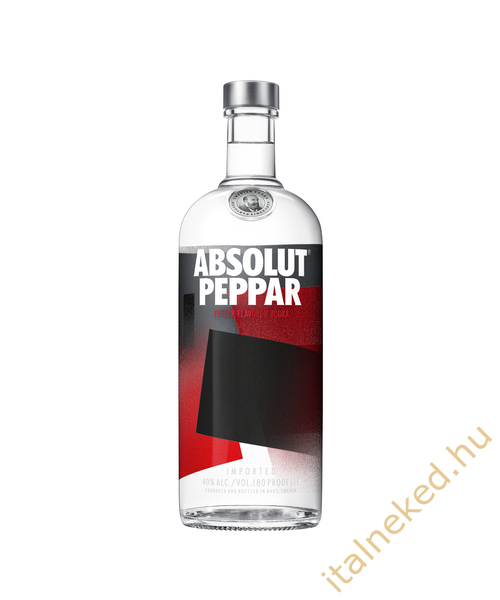 Absolut Peppar Vodka (40%) 1,0 l