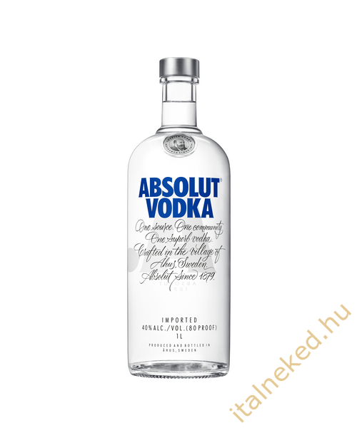 Absolut Blue Vodka (40%) 1 l