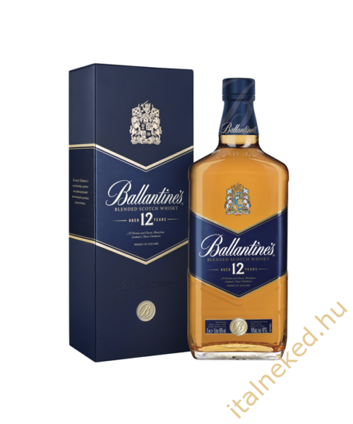 Ballantine's Gold 12 Year Old Whisky (40%) 1l