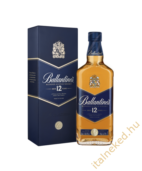 Ballantines Gold 12 Year Old Whisky (40%) 0,7