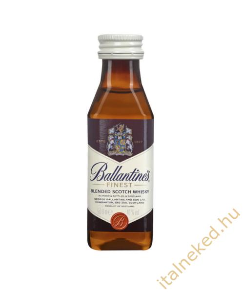 Ballantine's whisky mini (40%) 0,05l