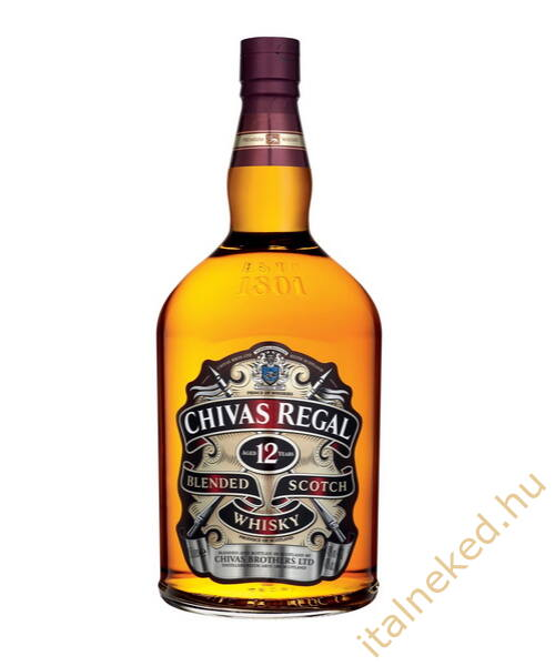 Chivas Regal 12 Year Old Whisky (40%) 4,5 l