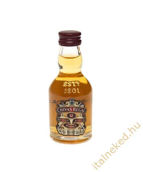 Chivas Regal whisky mini (40%) 0,05 l