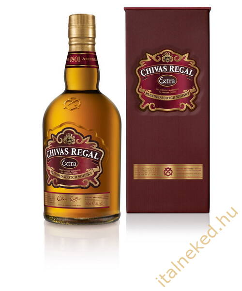 Chivas Regal Extra Whisky (díszdobozban) (40%) 0,7 l